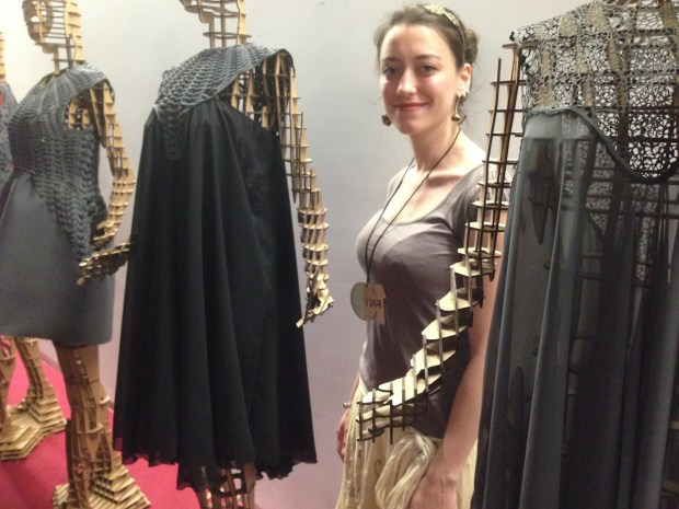 Ceclia Raspanti's laser cut fashion