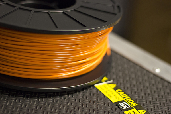 Many of our test prints will be printed in orange this year, mostly because it photographs really well.