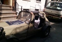DIY Electric Vehicle in Manhattan
