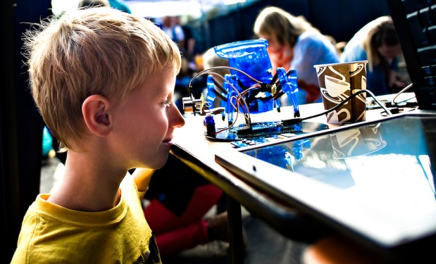 Last year's mini Maker Faire in Trondheim was part of the two-day Pstereo music festival