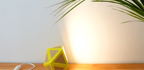 How-To: Geometric Paper Lamp