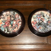 Dollar Store clocks transformed into handmade masterpieces!