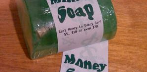 DIY Money Soap