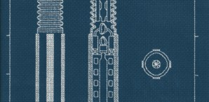 Lightsaber Blueprint Embroidery