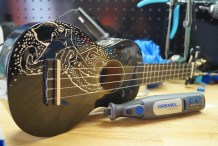 How to Engrave Custom Artwork onto an Instrument Using the Dremel Micro