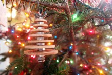 DIY Industrial Christmas Ornament