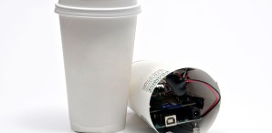 Coffee Cup Spy Cam