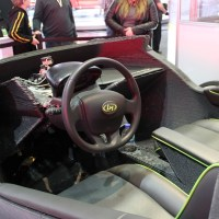3D printed car interior