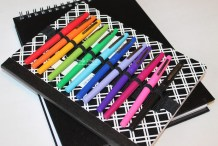 Write On: Notepad Organizer for Pencils and Pens