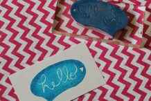 How-To: Carve a Rubber Stamp