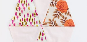 Sewing Tips: Get Sharp Points in Triangle Piecing