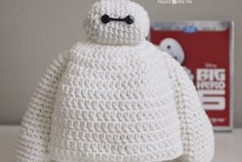 Crochet this Adorable Big Hero 6 Baymax Hat