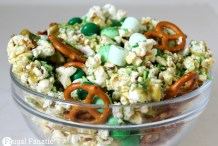 St. Patrick's Day Party Snack: Leprechaun Crunch