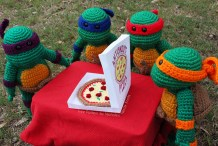 Cowabunga! Crochet These Teenage Mutant Ninja Turtles