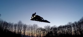Drones on the Dark Side: Imperial Star Destroyer Takes Flight