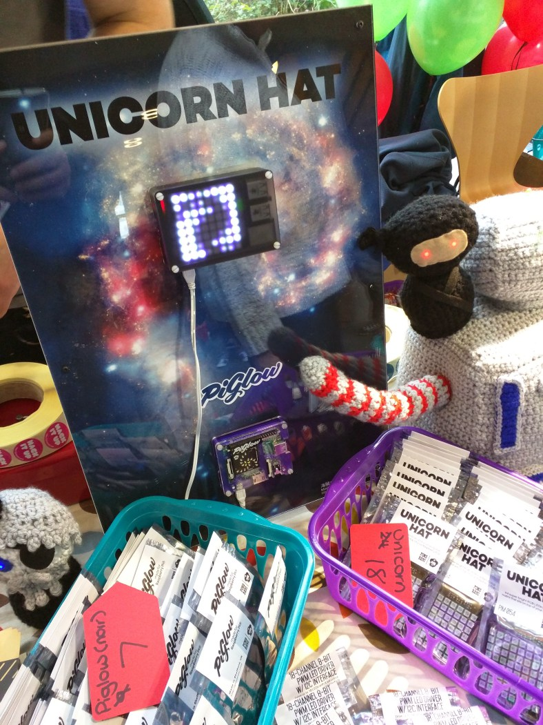 One of the Pi Hats from Pimoroni