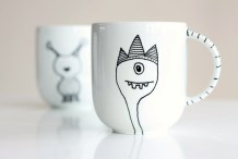 DIY Mug Design with Porcelain Paint Pen