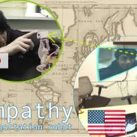 From Japan to the U.S., Empathy VR lets you immerse yourself in the remote room.