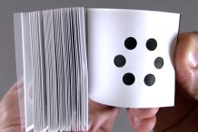 Hole Punch Adds Twist to the Classic Flipbook