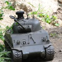 RC tanks roll into Maker Faire.