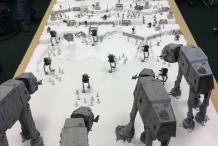 Battle of Hoth Recreated on Gaming Table for Salute 2015