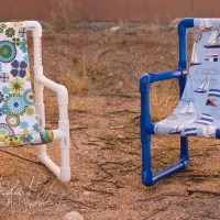 Weekend Project: PVC Pipe Toddler Chairs