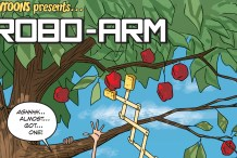 Howtoons: Wooden Robot Arm