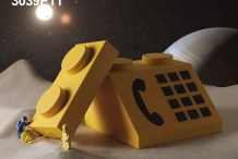 Someone Supersized Those Tiny Decorative Lego Computers and Made Them Functional