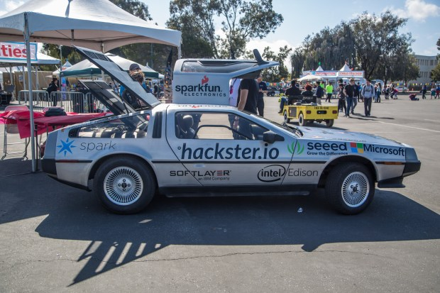The hackster.io Delorean