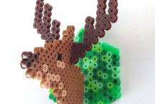 Oh Deer: Make Faux Taxidermy from Perler Beads