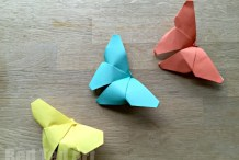 Paper Fun: Easy Origami Butterflies