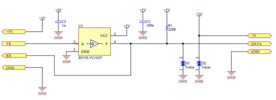 Smartstrap Circuit