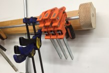 Build a Quick and Easy Clamp Rack