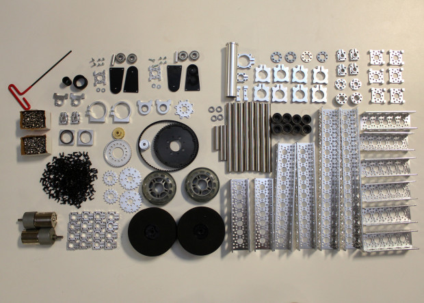 BB-8 inner structure materials