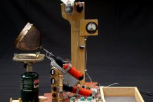 MacGyver a Semi-Auto Coffee Roaster from 3 Cordless Screwdrivers