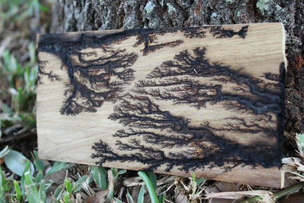 Burn Fractal Patterns Into Plywood Diy Art Make