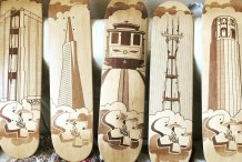 Laser Engraved Skateboard Decks