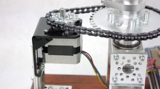 Stepper Motor Close Up