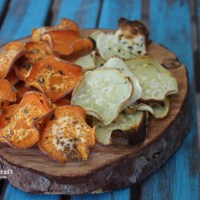 Bake a Tasty Batch of Sweet Potato Chips!
