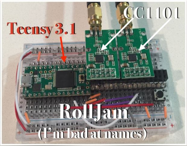 Keyless Entry Hack Device >> Anatomy of the Rolljam Wireless Car Hack