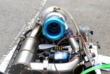 Hear the Homemade Jet Engine Built by a High School Student