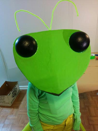 make the most adorable praying mantis costume ever make. Black Bedroom Furniture Sets. Home Design Ideas
