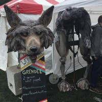 Grendel - 2 person wolf costume