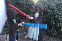 10 DIY Lightsabers from Padawan to Jedi Master