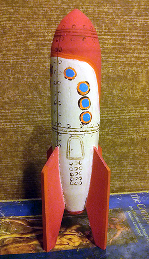 Repconn Rocket Toy