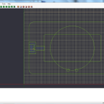 d - screenshot of pocketing toolpaths