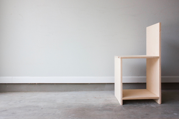 Build a Minimalist Chair Out of Plywood