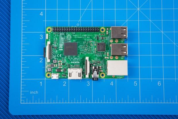 The new Raspberry Pi 3, Model B