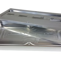 eMachineShop Manufactured Enclosure and Lid with Rounded Inside Corners