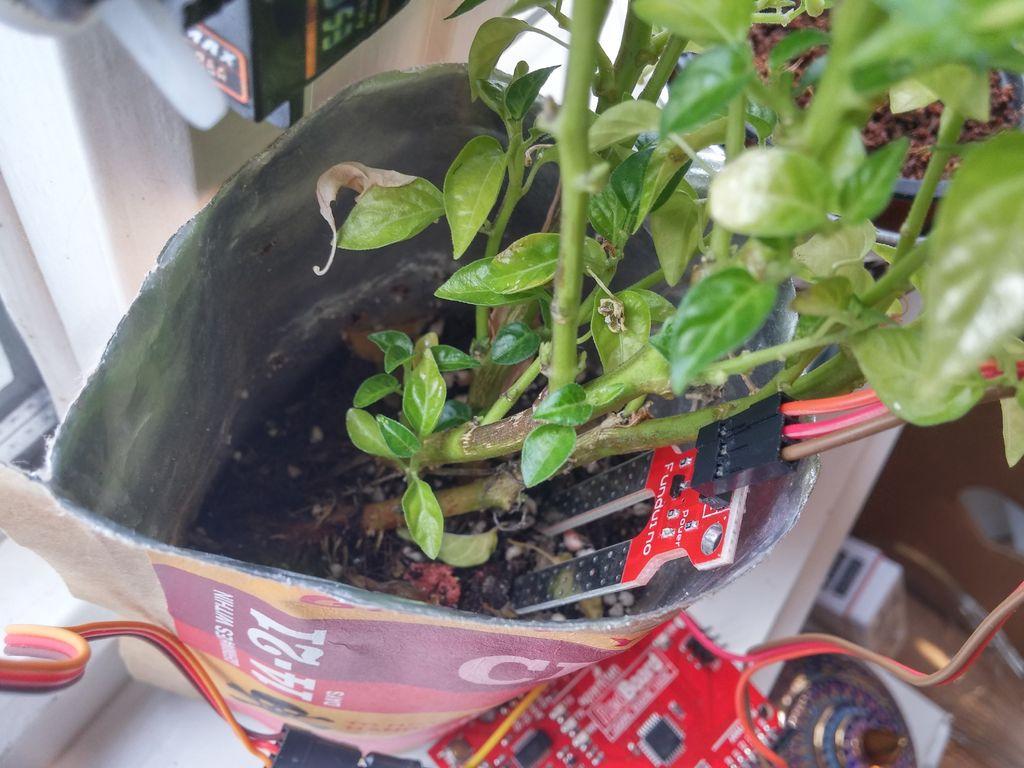 arduino plant